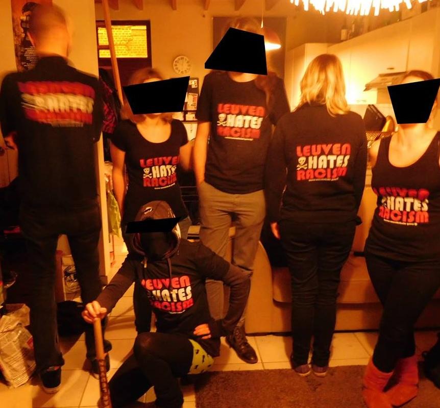 T-shirts Leuven hates racism